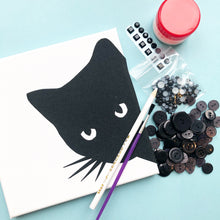 Load image into Gallery viewer, Black cat craft kit