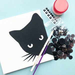 Black cat craft kit