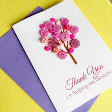 Load image into Gallery viewer, Thank You For Helping Me Blossom | Teacher Thank You Card