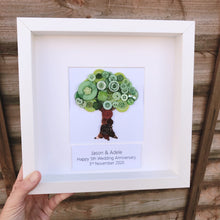 Load image into Gallery viewer, 5th Wedding Anniversary Personalised Gift - Wood