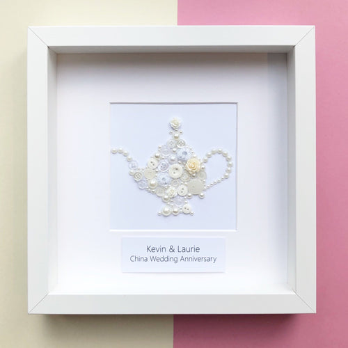 20th Wedding Anniversary Personalised Gift - China