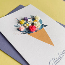Load image into Gallery viewer, Thinking of you handmade card