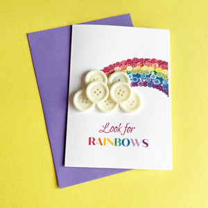 Look for RAINBOWS card