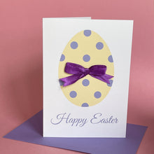 Load image into Gallery viewer, Happy Easter Card - Easter Egg A6 Handmade Card