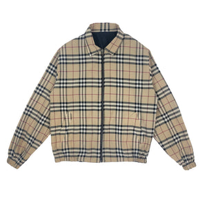 BURBERRY REVERSIBLE NOVA CHECK JACKET