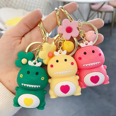 Shelark Cute Cartoon Dinosaur Key Chain