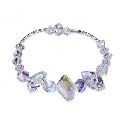 Irregular Crystal Bracelet - Shelark