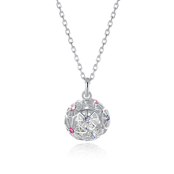 Colorful ball Crystal Necklace - Shelark