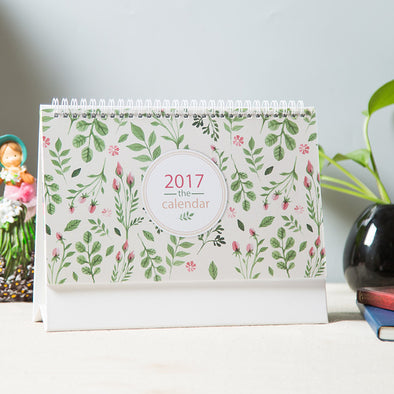 Desk Calendar Flower - 10 Pack
