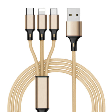 1.25M Multi Charging Cable(3 in 1)