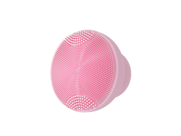 Hepburn Series Silicone Sonic Facial Cleansing Brush - Pink - Shelark