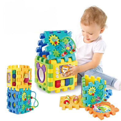 Learning & Education Toy Table Baby Multi-function Polyhedral Music Toy