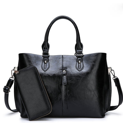 Two pieces Lady's Handbag Set - Shelark