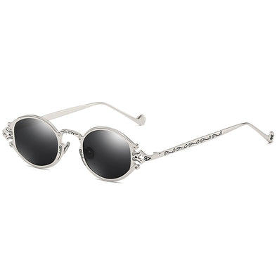 Oval Carving Sunglasses
