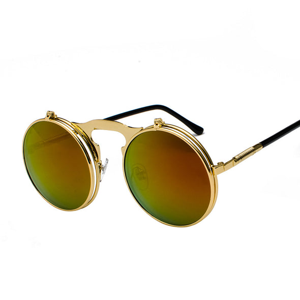 Flip Over Retro Sunglasses - Shelark