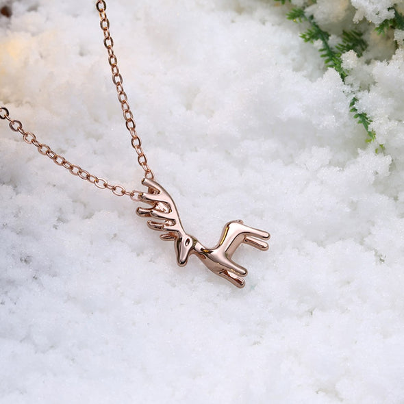 Cute Deer Necklace - Shelark
