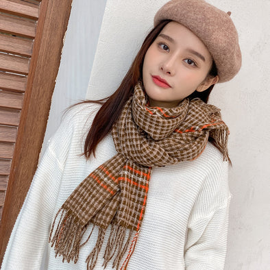 Fashionable Lady's Scarf