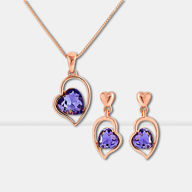 Love Crystal Jewelry Set - Shelark