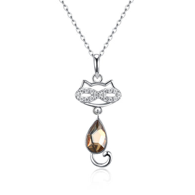 Cats  Crystal Necklace - Shelark