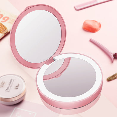 Portable LED Make Up Mirror - Shelark