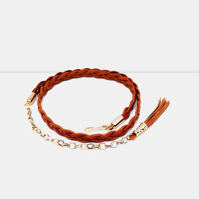 Girls Braided Belt - Shelark