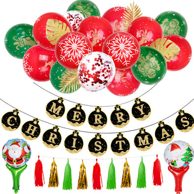 Christmas Balloon Party Sets - Shelark