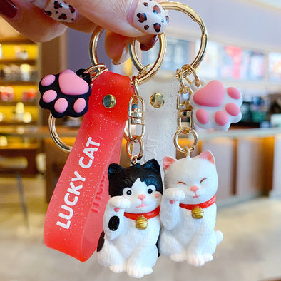 Lucky Cat Key Chain