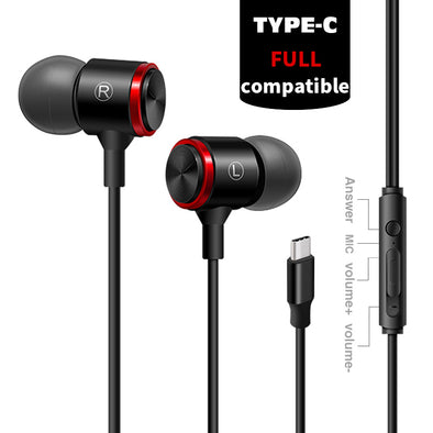Type-C Wired Earphones