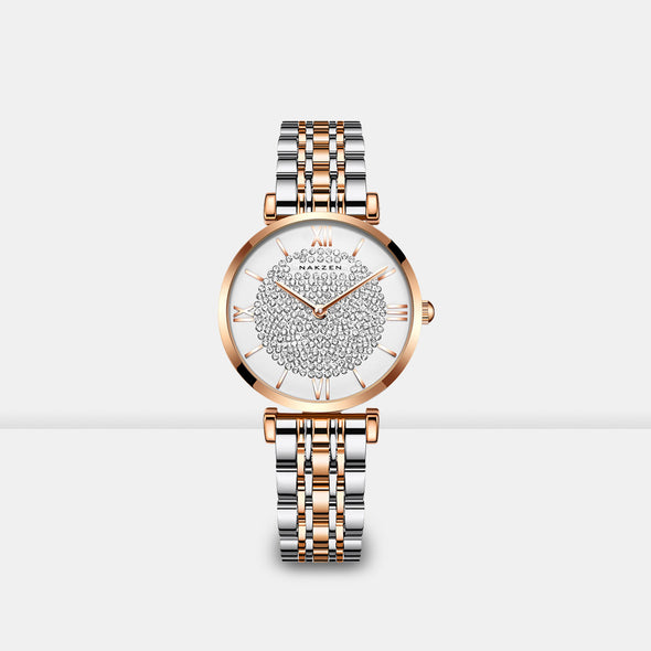 Stainless Steel Two-tone Watch - Shelark