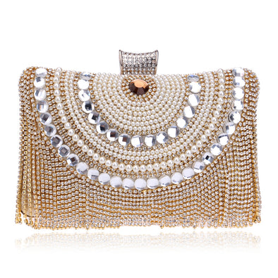 Tassel Dress Evening Bag - Shelark