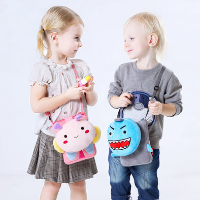 Plush Animal Crossbody Purse for Kids - Shelark