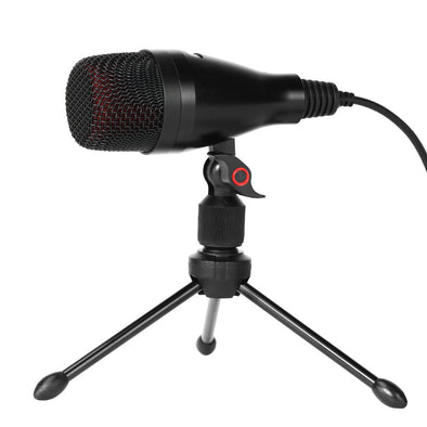 3.5mm PC/Phone USB desktop Microphone with Tripod Stand - Shelark