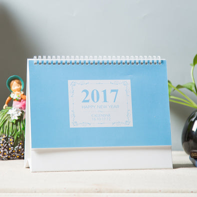 Desk Calendar Blue - 10 Pack