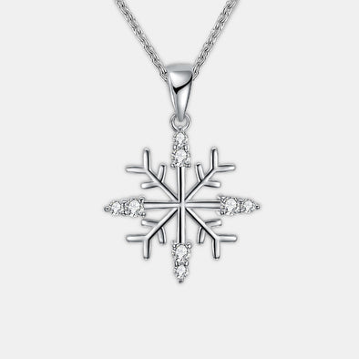 Christmas Snowflake Necklace - Shelark