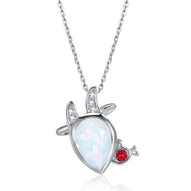 Aries Crystal Necklace - Shelark