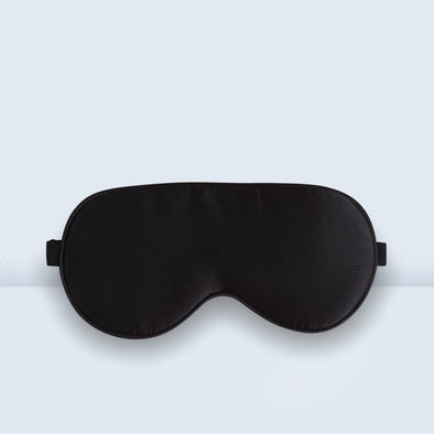 Silk Eye Mask Black - 5 Pack - Shelark
