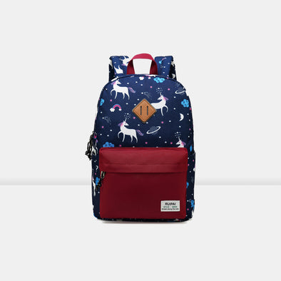 Printed children's backpack