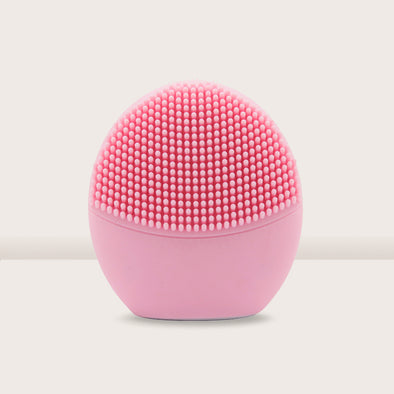 Pandora Series Silicone Sonic Facial Cleansing Brush - Pink