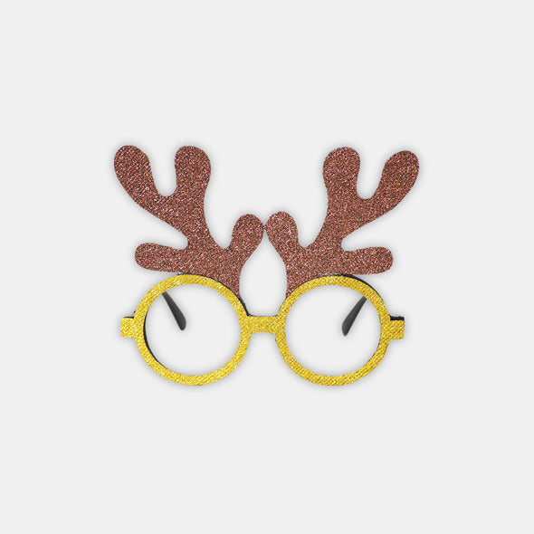 Cute Christmas decorative glasses - Shelark