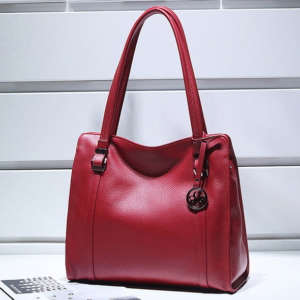 New Design Leather Handbag - Shelark