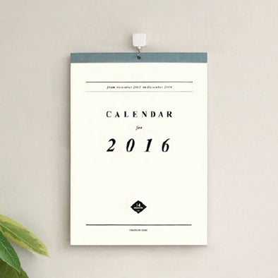 Wall Calendar White - 5 Pack