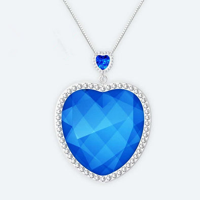Ocean Heart Wearable Air Purifier Necklace  - Shelark