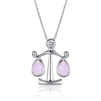 Libra Crystal Necklace - Shelark
