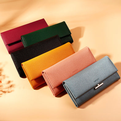 Fashion Simple Lady's Wallet - Shelark