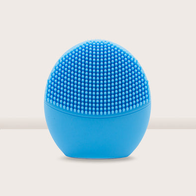 Pandora Series Silicone Sonic Facial Cleansing Brush - Blue