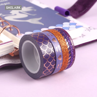 Mermaid Series Washi Tape - Shelark