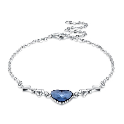 Heart Crystal Bracelet - Shelark