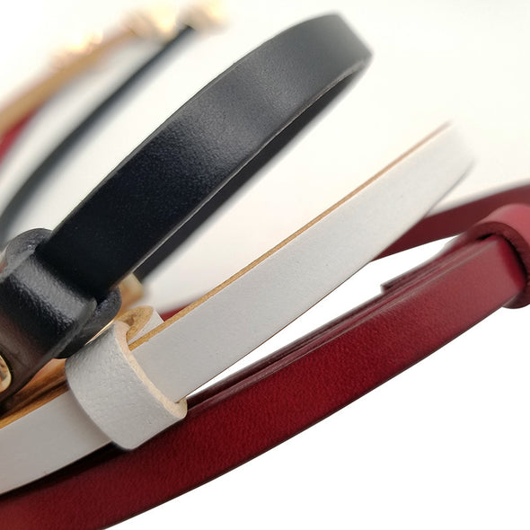 Elegant Bow Leather Belt - Shelark
