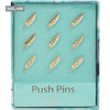 Blue Series Feather Thumbtack - Champagne - Shelark