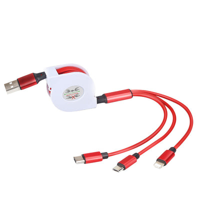 Flexible Charging Cable(3 in 1) - Shelark
